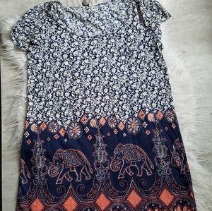 Lucky brand tunic dress
